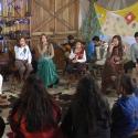 Grupo infantil Mas Que Tal faz a festa no especial de Dia das Crianças gravado junto aos pequenos da APAE Alvorada