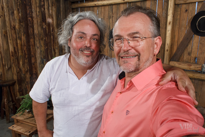 #SelfieDoGringo com o Demétrio Xavier (Foto: Marcelo Ferreira/ICPJ)