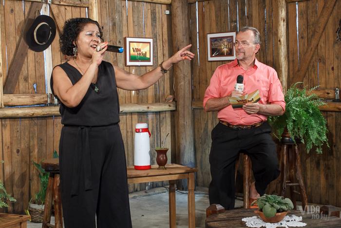Nanci Araújo no Vida no Sul (Foto: Marcelo Ferreira/ICPJ)