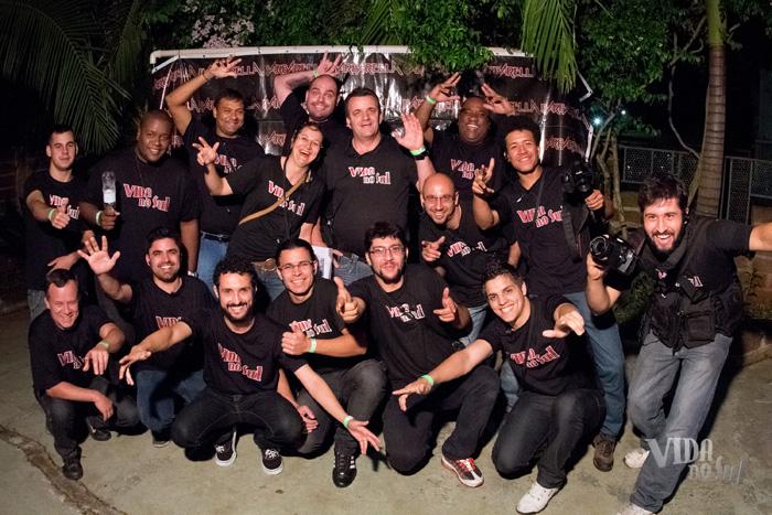 Equipe do Instituto Cultural Padre Josimo que participou das gravações (Foto: Marcelo Ferreira/ICPJ)