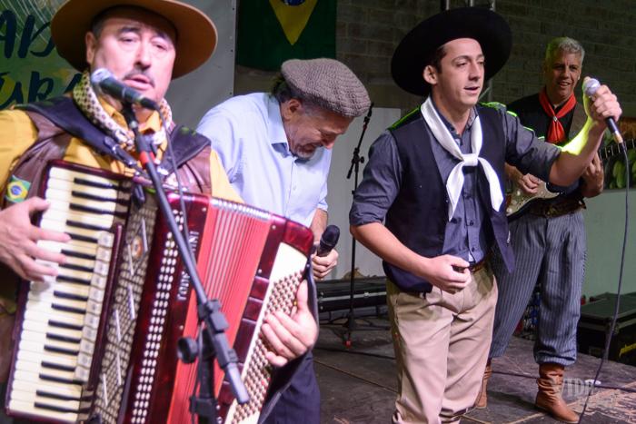Antônio Gringo e os 4 Ventos no Vida no Sul (Foto: Marcelo Ferreira/ICPJ)