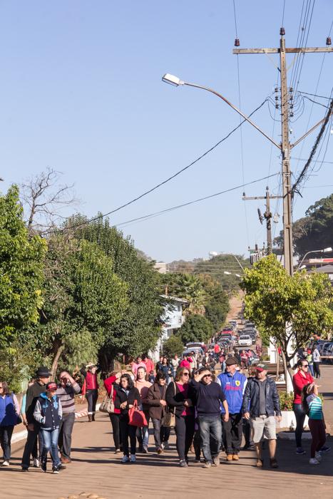 Se encontrava gente de vários estados brasileiros (Foto: Marcelo ferreira/ICPJ)
