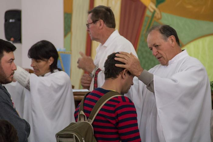 Benção da saúde (Foto: Marcelo ferreira/ICPJ)