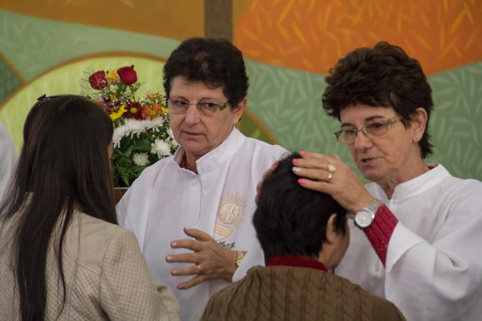 Bênção da saúde (Foto: Marcelo ferreira/ICPJ)