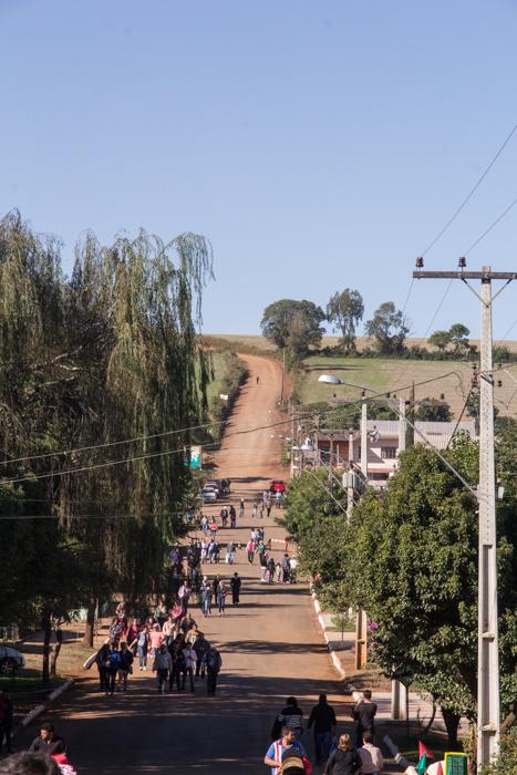 Romeiros chegaram de todas as direções (Foto: Marcelo ferreira/ICPJ)