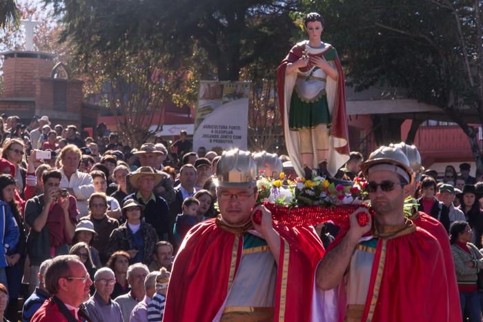 Momento realizado junto à celebração da missa (Foto: Marcelo ferreira/ICPJ)